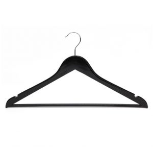 Wholesale Non Slip Wooden Clothes Hanger For Skirt